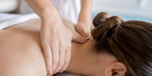 Swedish or deep tissue home massage with oil